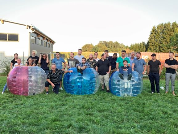 Bubblesoccer - Team Altmann